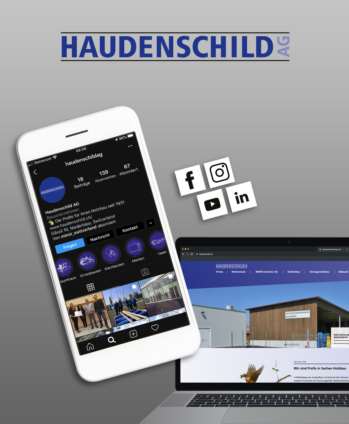 Online und Social Media Marketing Haudenschild AG